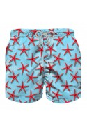 Short De Bain MC2 Saint Barth Jean Enfant Red Seastar Big