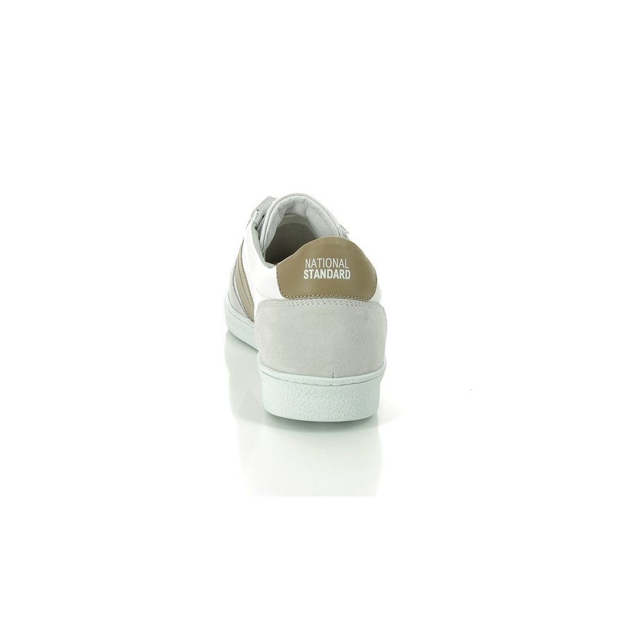 Homme Blanche Bande Standard Sneakers 6 Beige Edition National 16 Y7ybgf6v